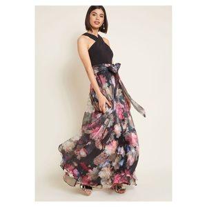 NWT Eliza J Influential Elegance chiffon dress